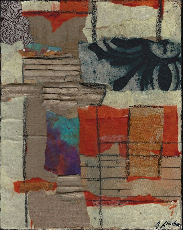 Mixed Media Collage - Number 10
